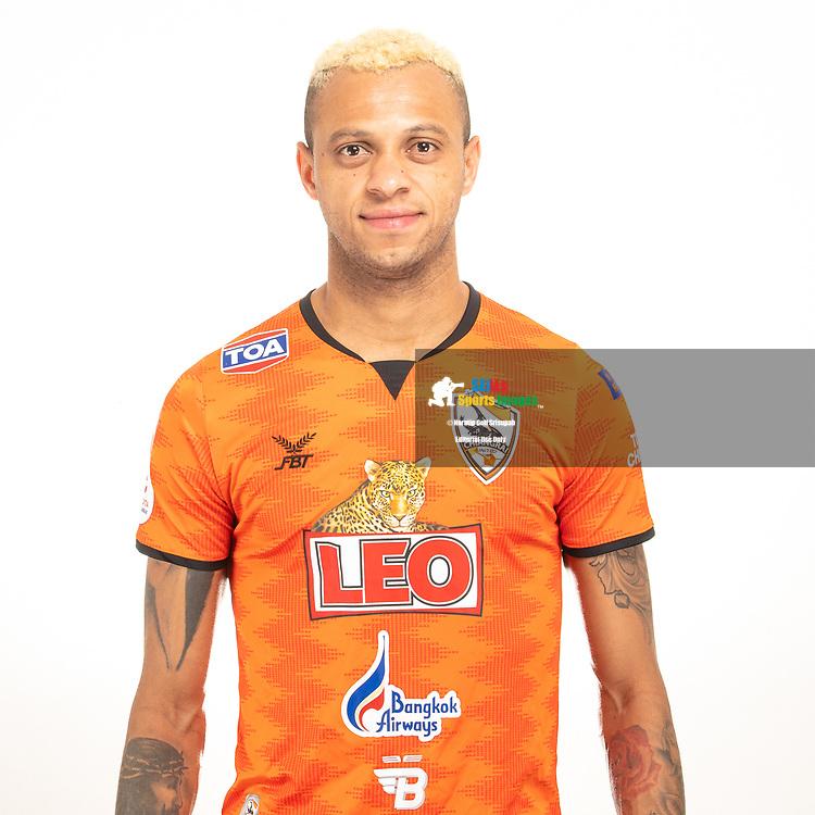 THAILAND - JUNE 04: William Henrique #11 of Singha Chiangrai United on June 04, 2019.<br /> .<br /> .<br /> .<br /> (Photo by: Naratip Golf Srisupab/SEALs Sports Images/MB Media Solutions)