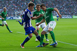 25.09.2011, Weser Stadion, Bremen, GER, 1.FBL, Werder Bremen vs Hertha BSC, im Bild.1:1 Ausgleich Jubel Claudio Pizarro (Bremen #24).// during the Match GER, 1.FBL, Werder Bremen vs Hertha BSC on 2011/09/25,  Weser Stadion, Bremen, Germany..EXPA Pictures © 2011, PhotoCredit: EXPA/ nph/  Gumz       ****** out of GER / CRO  / BEL ******