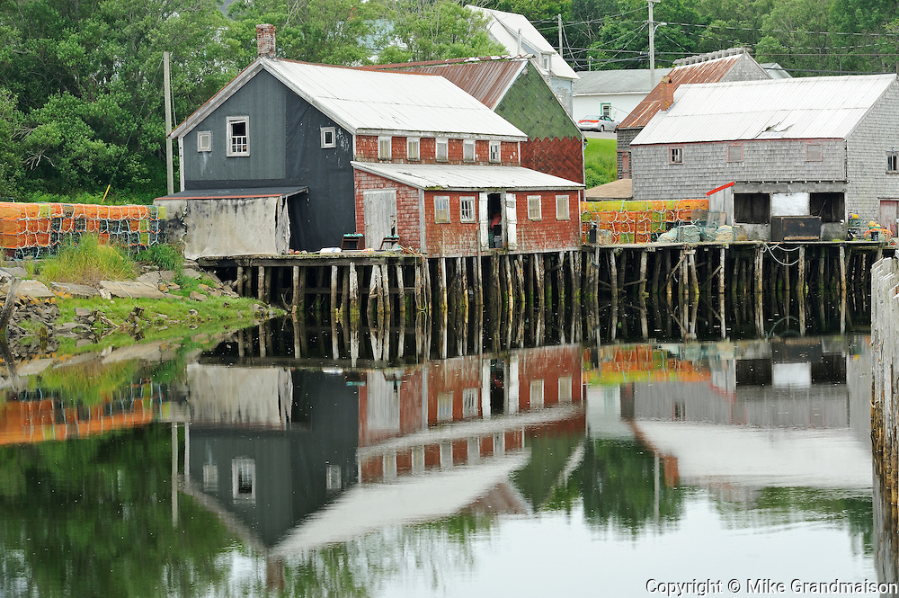 Muiseum in Fishing Village at Seal Cove<br /> Grand Manan Island<br /> New Brunswick<br /> Canada