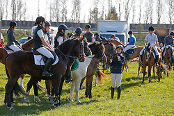 Prizegiving<br /> Nationale Pony eventing Affligem 2013<br /> © Dirk Caremans