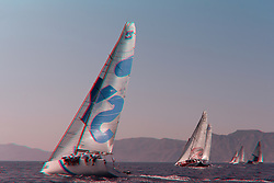 Synergy Team Sailing in the AudiMedCup 2010, 3D images take during the events in Barcelona and Cartagena in Spain