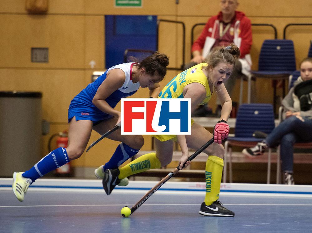 BERLIN - Indoor Hockey World Cup<br /> Australia - Namibia<br /> foto: MURPHY Madeleine<br /> WORLDSPORTPICS COPYRIGHT FRANK UIJLENBROEK