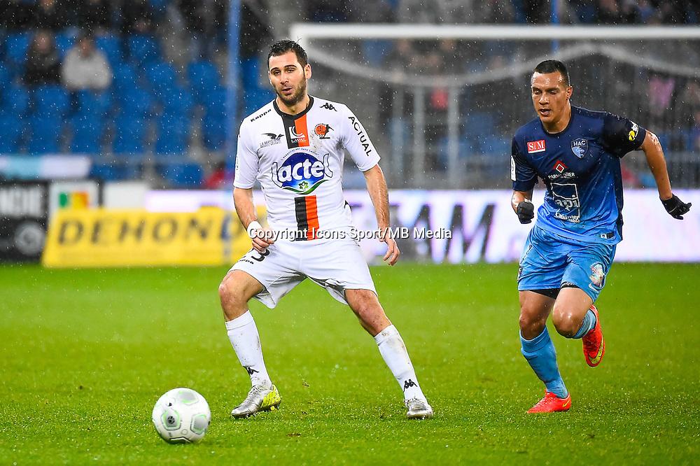 Antony ROBIC  - 12.12.2014 - Le Havre / Laval - 17eme journee de Ligue 2 <br /> Photo : Fred Porcu / Icon Sport