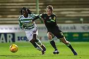Forest Green Rovers George Williams(11) during the EFL Sky Bet League 2 match between Yeovil Town and Forest Green Rovers at Huish Park, Yeovil, England on 8 December 2018.
