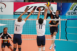 09-09-2012 VOLLEYBAL: EK KWALIFICATIE 2013 NEDERLAND - ISRAEL : KORTRIJK <br /> Jeroen Rauwerdink<br /> ©2012-FotoHoogendoorn.nl / Pim Waslander