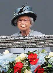 The Queen at the Epsom Derby in Epsom, England, Saturday 1st June 2013 Picture by Stephen Lock / i-Images