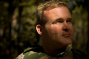 Senior Airman James Hannifin, 437th Security Forces, poses for a portrait at Charleston Charleston Air Force Base, S.C., on Oct. 30, 2008.