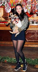 © Licensed to London News Pictures. 21/11/2013, UK.  Leah Weller. Hyde Park Winter Wonderland VIP Opening, Hyde Park, London UK, 21 November 2013. Photo credit : Richard Goldschmidt/Piqtured/LNP