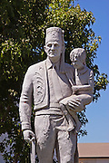 El Bekal Statue Anaheim Shrine Temple