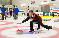 Curling League at Plymouth State University Ice Arena.  Karen Bobotas for the Laconia Daily Sun