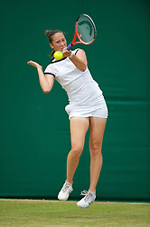 LONDON, ENGLAND - Tuesday, June 29, 2010: Doroteja Eric (SRB) during the Girls' Singles 2nd Round match on day eight of the Wimbledon Lawn Tennis Championships at the All England Lawn Tennis and Croquet Club. (Pic by David Rawcliffe/Propaganda)
