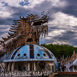 Vietnam - Abandoned Water Park - Ho Thuy Tien - normal colors