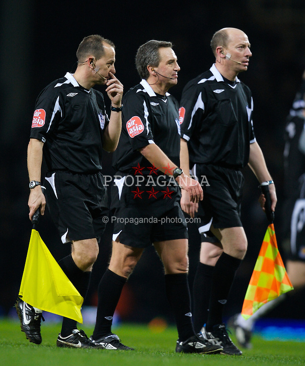 LONDON, ENGLAND - Wednesday, January 30, 2008: Referee Alan Wiley who handed victory to West Ham United with an unbelievable penalty decision against Liverpool during the Premiership match at Upton Park. (Photo by David Rawcliffe/Propaganda)