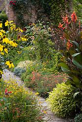Late summer in the Cottage Garden at Sissinghurst Castle
