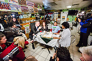 Make the Road at Esmeralda's Restaurant with Mayor Bill de Blasio and Melissa Mark-Viverito
