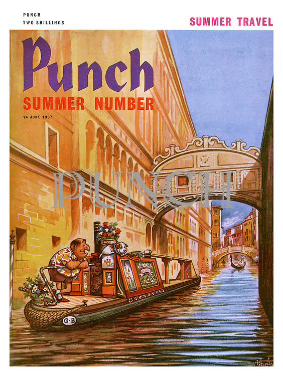 Punch Summer Number (Front cover, 14 June 1967)