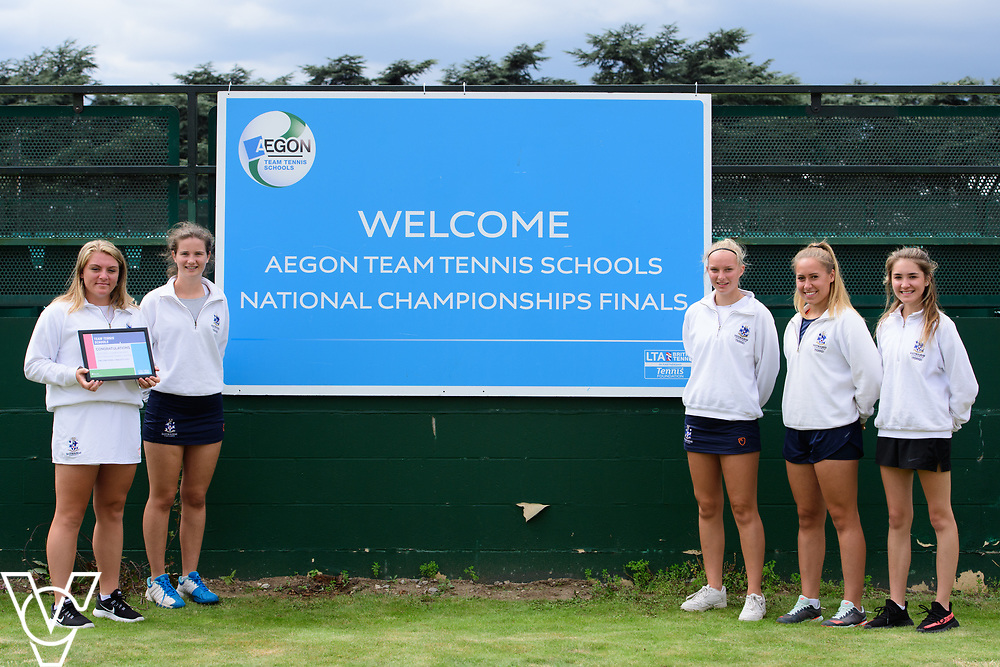 Eastbourne College<br /> <br /> Team Tennis Schools National Championships Finals 2017 held at Nottingham Tennis Centre.  <br /> <br /> Picture: Chris Vaughan Photography for the LTA<br /> Date: July 14, 2017