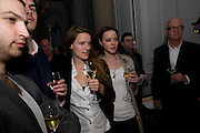 HELEN CARR; EMMA PHILLIPSON, Launch of Stephanie Theobald's book' A Partial Indulgence'  drinks provided by Ruinart champage nd Snow Queen vodka. The Artesian at the Langham, 1c Portland Place, Regent Street, London W1