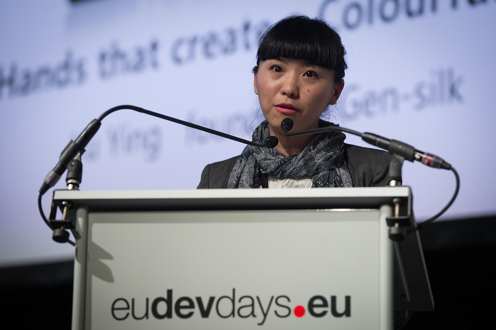 03 June 2015 - Belgium - Brussels - European Development Days - EDD - Inclusion - Social enterprise - Stemming the tide on income inequality - Ying Yu , Founder and Chief Executive , Shengshi Jingxiu © European Union