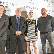 NLD/Amsterdam/20151028 - Photocall castleden James Bondfilm Spectre, Lea Seydoux, Dave Bauista, Michael G. Wilson