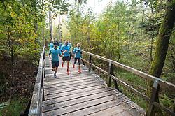 slovenija 12.10.2019, Priprave Lj Maraton Garmin tek, foto: Anže Petkovšek