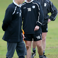 St Johnstone training...14.11.03<br />Peter MacDonald with Simon Donnelly and Chris Hay during training this morning before facing Brechin on Sunday<br />see story by Gordon Bannerman Tel: 01738 553978<br />Picture by Graeme Hart.<br />Copyright Perthshire Picture Agency<br />Tel: 01738 623350  Mobile: 07990 594431