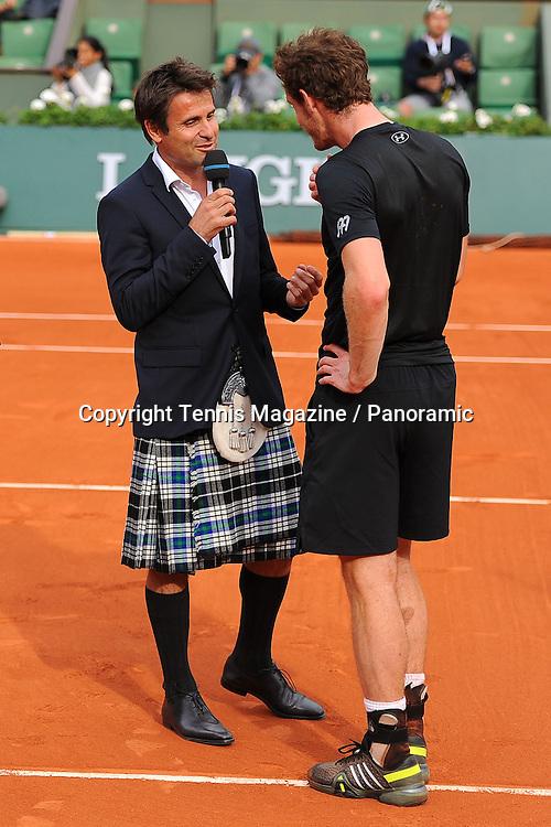 Andy Murray (GBR)<br /> Fabrice Santoro (FRA)