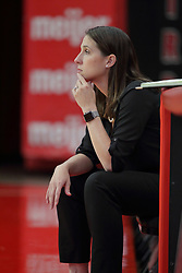 19 August 2017:  Leah Johnson during a college women's volleyball match Scrimmage of the Illinois State Redbirds at Redbird Arena in Normal IL (Photo by Alan Look)