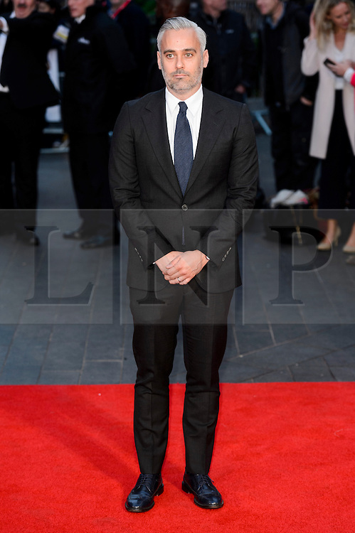 © Licensed to London News Pictures. 12/10/2016. Film producer IAIN CANNING attends the film premiere of LION as part of The London Film FestivalLondon, UK. Photo credit: Ray Tang/LNP