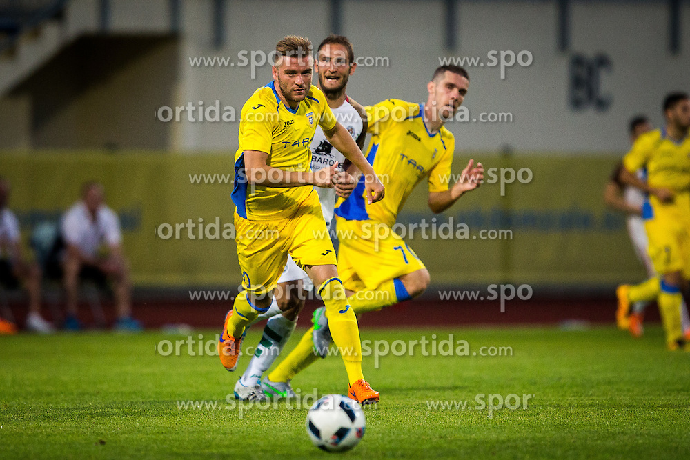 Slobodan Vuk of NK Domzale during football match between NK Domzale and FC Lusitanos Andorra in first match of UEFA Europa League Qualifications, on June 30, 2016 in Sports park Domzale, Domzale, Slovenia. Photo by Ziga Zupan / Sportida