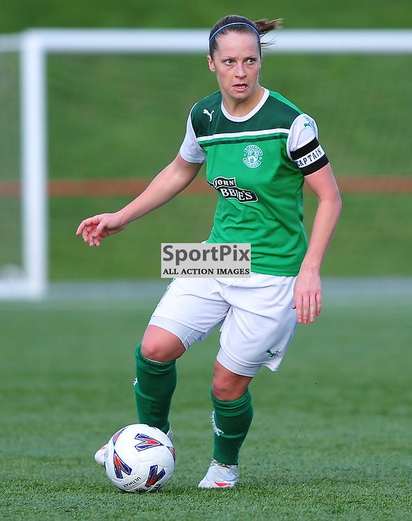 Joelle Murray (Hibs) ..Hibernian v Inverness City, Scottish Women's Premier League, 18 March 2012