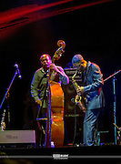 Kenny Garrett on sax<br /> Riviera Maya Jazz Festival 2014