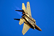Israeli Air force F-15I Fighter in flight