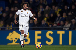 January 3, 2019 - Villarreal, Castellon, Spain - Marcelo of Real Madrid controls the ball during the week 17 of La Liga match between Villarreal CF and Real Madrid at Ceramica Stadium in Villarreal, Spain on January 3 2019. (Credit Image: © Jose Breton/NurPhoto via ZUMA Press)