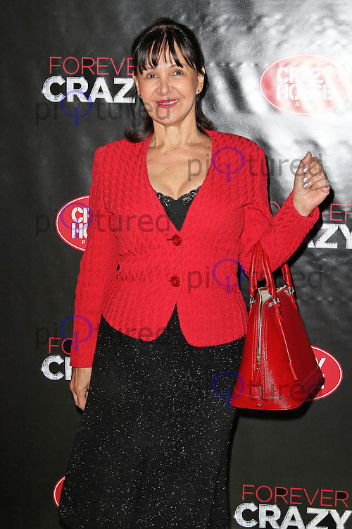 LONDON - SEPTEMBER 19: Arlene Phillips attended the premiere of 'Crazy Horse Presents Forever Crazy' at The Crazy Horse, London, UK. September 19, 2012. (Photo by Richard Goldschmidt)