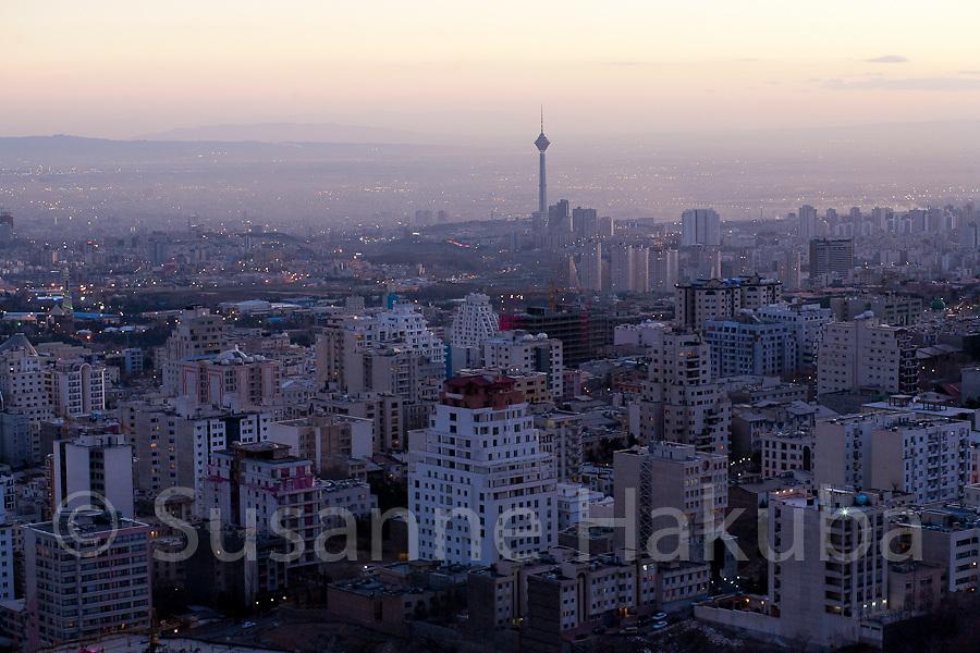 Tehran Skyline, Iran.