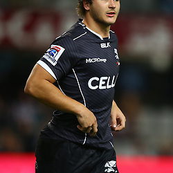 DURBAN, SOUTH AFRICA - JUNE 13: Andre Esterhuizen of the Cell C Sharks during the Super Rugby match between Cell C Sharks and DHL Stormers at Growthpoint Kings Park on June 13, 2015 in Durban, South Africa. (Photo by Steve Haag/Gallo Images)