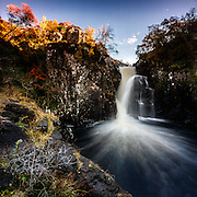 The falls of Kirkaig, Assynt