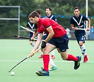 AMSTELVEEN - Guim Ursul Colome (Nijmegen)    Play Outs Hockey hoofdklasse. Pinoke-Nijmegen (1-1) . Pinoke wint de shoot outs en blijft in de hoofdklasse. COPYRIGHT KOEN SUYK