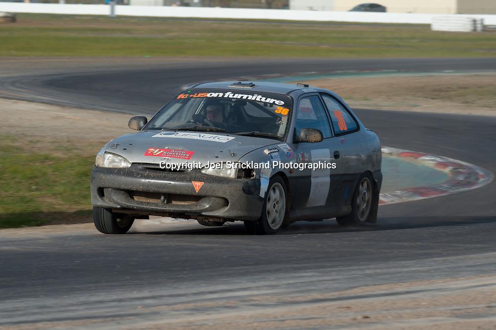 Kelvin North - Hyundai Excel - Rallycross Australia - Winton Raceway - 16th July 2017