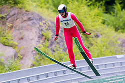 Jonathan Leroyd from France during Ski Jumping Continental Cup Kranj 2018, on July 8, 2018 in Kranj, Slovenia. Photo by Urban Urbanc / Sportida