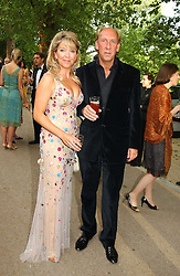 VISCOUNT & VISCOUNTESS DAVENTRY at the Game Conservancy Jubilee Ball in aid of the Game Conservancy Trust held at The Hurlingham Club, London SW6 on 26th May 2005<br />