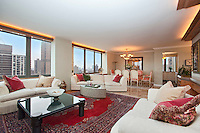 Living Room at 300 East 85th Street