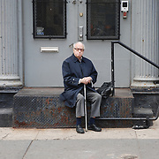 Man Sitting, Soho, NYC