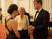 MRS. JEREMY GARRETT-COX; LADY OGILVY-WEDDERBURN; JEREMY GARRETT-COX. The National Trust for Scotland Mansion House Dinner. Mansion House, London. 16 October 2013