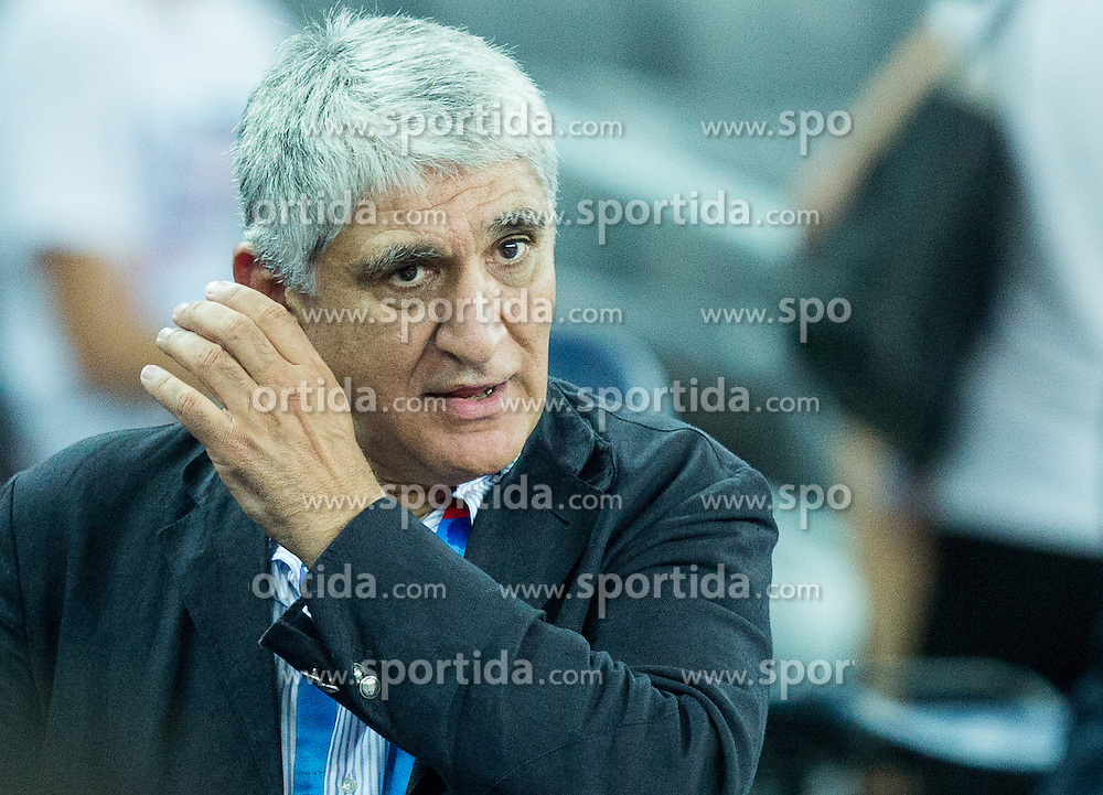 Panagiotis Giannakis during basketball match between Croatia and Slovenia at Day 1 in Group C of FIBA Europe Eurobasket 2015, on September 5, 2015, in Arena Zagreb, Croatia. Photo by Vid Ponikvar / Sportida