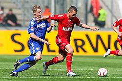 30.04.2010,  Rhein Energie Stadion, Koeln, GER, 1.FBL, FC Koeln vs Bayer 04 Leverkusen, 31. Spieltag, im Bild: Lukas Podolski (Koeln #10) (R) gegen Lars Bender (Leverkusen #8) (L)  EXPA Pictures © 2011, PhotoCredit: EXPA/ nph/  Mueller       ****** out of GER / SWE / CRO  / BEL ******