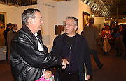 Nick Mason, Art 2003 London Art Fair opening. Business Design Centre.  14 January 2003. © Copyright Photograph by Dafydd Jones 66 Stockwell Park Rd. London SW9 0DA Tel 020 7733 0108 www.dafjones.com