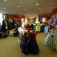 Golf St Andrews shop, a joint venture between the House of Bruar and the R&A<br />