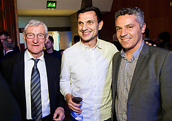 Vojislav Simeunovic, ... and Oliver Bogatinov during Traditional New Year party of of the Slovenian Football Association - NZS, on December 20, 2018 in Gospodarsko razstavisce, Ljubljana, Slovenia. Photo by Vid Ponikvar / Sportida